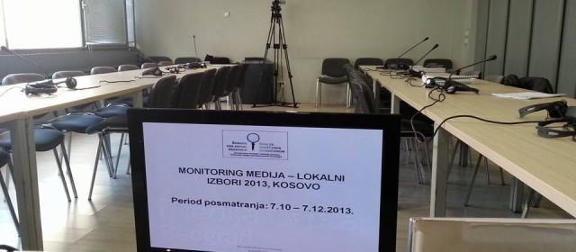 Mediji nezainteresovani za rezultate izveštavanje o izborima na Kosovu
