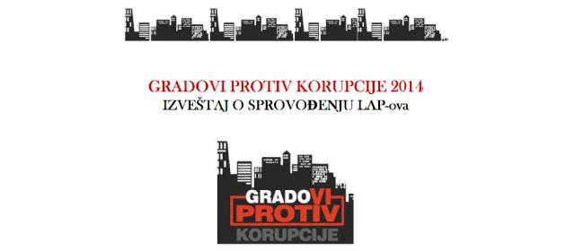 Izveštaj o sprovođenju lokalnih planova protiv korupcije za 2014. godinu