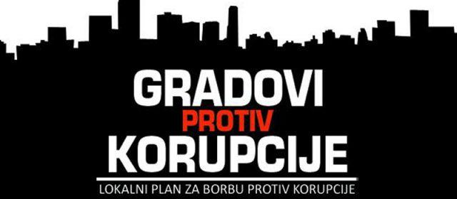 "Konferencija ""Gradovi protiv korupcije"""