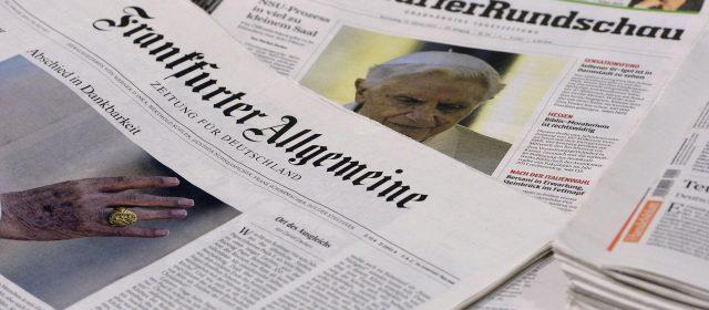 Frankfurter Allgemeine Zeitung neprecizno ocenio način izveštavanja medija o EU u Srbiji